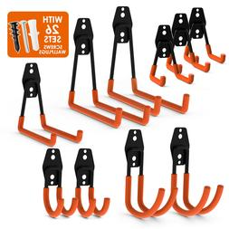 10Pack Steel Garage Storage Double Hook Utility Wall Mount O