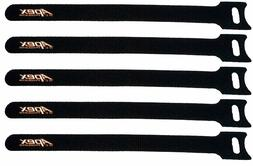 Apex RC Products 12.5mm x 200mm Hook & Loop Battery Straps -