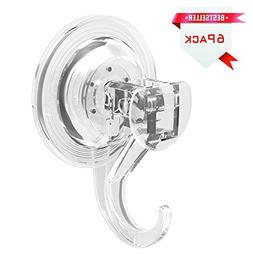 LUXEAR Suction Hooks Heavy Duty Wreath Hanger Suction Cup Ho
