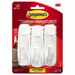 Command Value Pack Hooks Holds Up To 5 Lb Large 3 Hooks