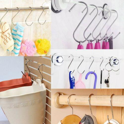 20Pcs Shaped Stainless Steel Kitchen Hanger