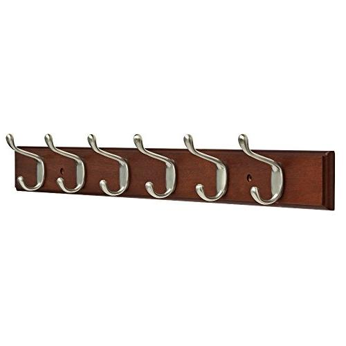 Franklin Brass FBHDCH6-511-R 27-Inch Hook Rail, Bark and Sat