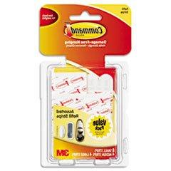 * Assorted Refill Strips, White, 16 Strips/Pack