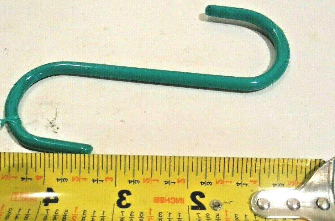 S 10 S COATED GREEN S-HOOK