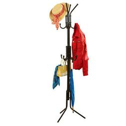 Collections Etc Large 12-Hook Multipurpose Entryway Iron Coa