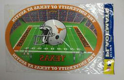 SET OF 4 TEXAS LONGHORNS PLACEMATS DUCK HOUSE INCE NCAA HOOK