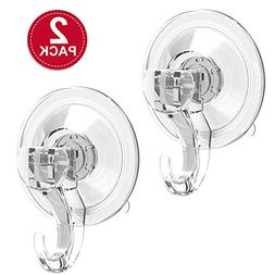 M-Better Suction Cup Hooks Powerful SuperLock Shower Suction