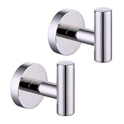 Kes SUS 304 Stainless Steel Coat Hook Towel/Robe Clothes Hoo